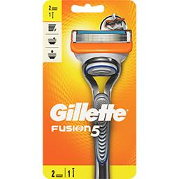 Gillette Gillette Rasoir fusion5 le manche + 2 lames