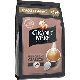 Un bon café classique en dosettes