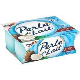 Perle de Lait - Yaourt saveur coco