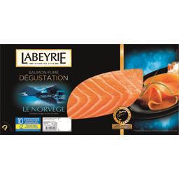 saumon fume norvege 10tr.+2tranches offertes