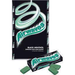 Chewing-gums Black Menthol sans sucres