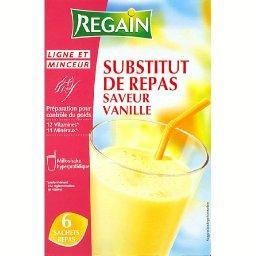Substitut de repas saveur vanille