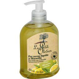 Le Petit Olivier Le Petit Olivier Pur savon liquide de Marseille parfum verveine citron le flacon de 300 ml