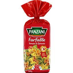 Panzani Panzani Farfalle tomates & épinards le paquet de 500 g