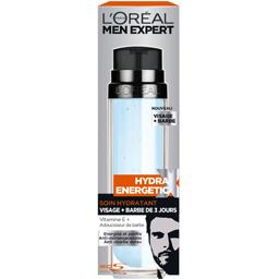 Hydra Energetic - Soin hydratant visage+ barbe de 3 jours