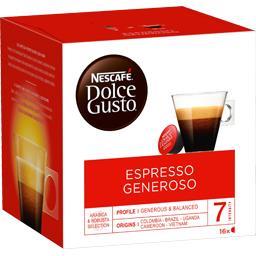 Dolce Gusto - Capsules de café Espresso Generoso