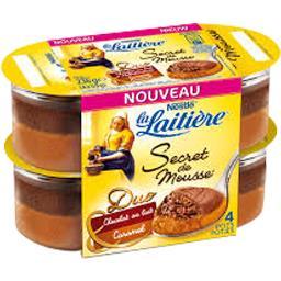 Secret de Mousse - Mousse Duo chocolat lait/caramel