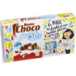 Barres Choco Fresh lait et noisettes