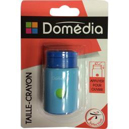 Taille-crayon avec réservoir 1 usage coloris assorti...