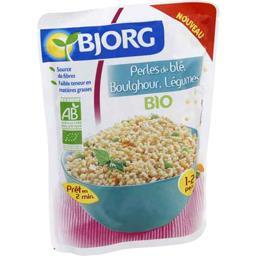 Perles de blé, boulghour, légumes BIO