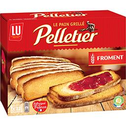 Pelletier - Pain grillé à la farine de froment