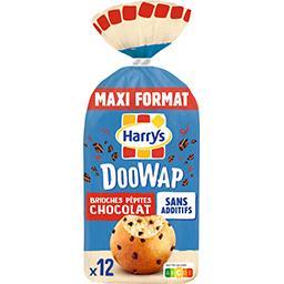 Harry's Harrys Doo Wap - Brioches pépites chocolat le paquet de 12 - 480 g