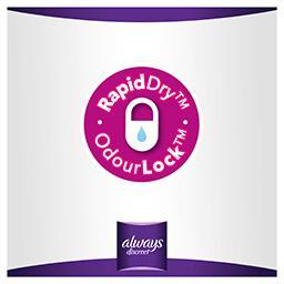 Discreet serviettes+ pour fuites urinaires - long