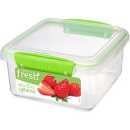 Boite alimentaire rectangulaire à clips Fresh 1,2 L