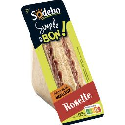 Sodeb'O Simple & Bon - Sandwich rosette pain complet