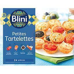 Petites Tartelettes 4 variétés
