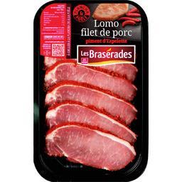 Lomo filet de porc piment d'Espelette