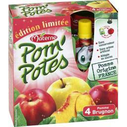 Pom'Potes - Dessert fruitier pomme brugnon