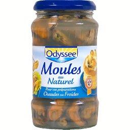 Moules au naturel