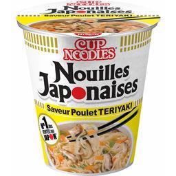 Nissin Nissin Soupe nouilles japonaises saveur poulet 'Teriyaki' le pot de 67 g