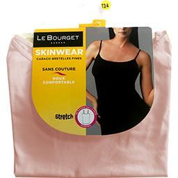 Caraco Skinwear bretelles fines taille 1/2 beige