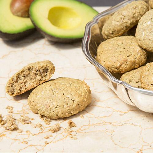 Biscuits de flocons d'avoine, noix et ingrédient secret