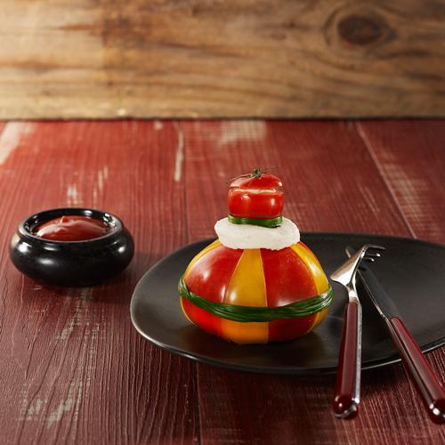 Salade de Tomato Ketchup Heinz et mozzarella