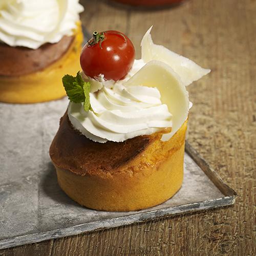 Cupcakes Tomato Ketchup Heinz et parmesan