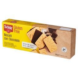 Biscotti Con Cioccolato Bezglutenowe herbatniki z gorzką czekoladą  (16 sztuk)