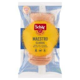 Maestro Classic Bezglutenowy biały chleb pokrojony  (12 sztuk)