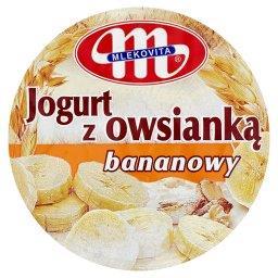 Jogurt z owsianką bananowy