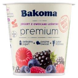 Premium Jogurt z owocami leśnymi