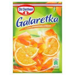 Galaretka o smaku pomarańczowym