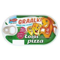 Graalki Smaczne rybki Łosoś w sosie pomidorowym a'la pizza