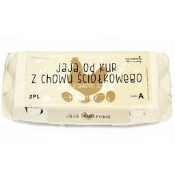 Jaja z chowu ściółkowego L 10 sztuk
