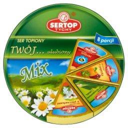 Tychy Twój... ulubiony Mix Ser topiony 140 g (8 porc...