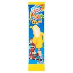 Banani Lody wodne żelowe o smaku bananowym i lody waniliowe