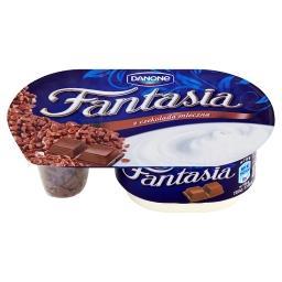 Fantasia Jogurt kremowy z kawałkami czekolady mleczn...