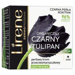 Organiczny czarny tulipan 70+ Perłowy krem przeciwzm...