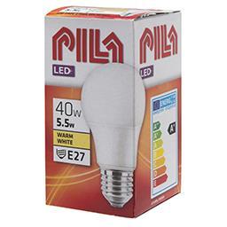 Żarówka LED kulka E27 5,5W 2700K 40W 470lm ciepła bi...