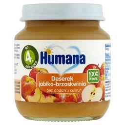 100% Organic Deserek jabłko-brzoskwinia po 4. miesiącu