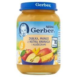 Jabłka mango z nutką ananasa i kluseczkami dla niemowląt po 10. miesiącu
