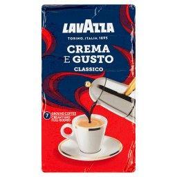 Crema E Gusto Classico Mieszanka mielonej kawy palonej
