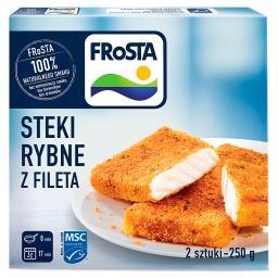 Steki rybne z fileta 250 g (2 sztuki)