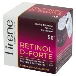 Retinol D-Forte 50+ Pro-liftingujący krem spłycający...
