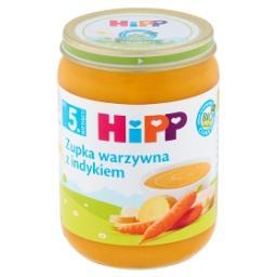 BIO Zupka warzywna z indykiem po 5. miesiącu
