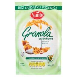 Granola orzechowa