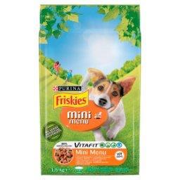 Vitafit Mini Menu Karma dla psów z kurczakiem i warz...