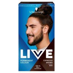 Live Farba do włosów brąz espresso 880