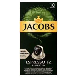 Espresso Ristretto Kawa mielona w kapsułkach  (10 sztuk)